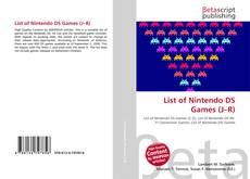 List of Nintendo DS Games (J–R)的封面