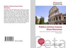 Portada del libro de Publius Licinius Crassus Dives Mucianus