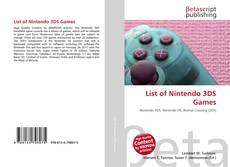 Bookcover of List of Nintendo 3DS Games