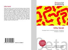 Buchcover von Villa Verdi