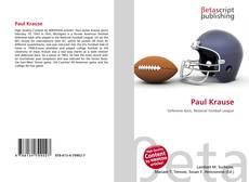 Buchcover von Paul Krause