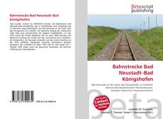Copertina di Bahnstrecke Bad Neustadt–Bad Königshofen