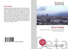 Buchcover von Pucci Family