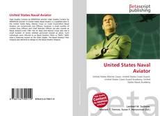 Capa do livro de United States Naval Aviator