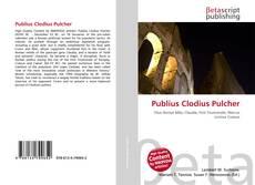 Publius Clodius Pulcher kitap kapağı