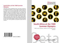 South Africa at the 1908 Summer Olympics kitap kapağı