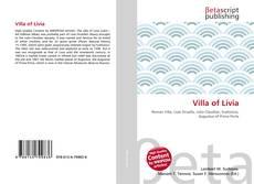 Buchcover von Villa of Livia