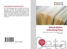 Buchcover von Alfred-Müller-Felsenburg-Preis