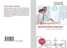Capa do livro de Alfred-Philibert Aldrophe