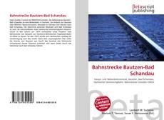 Bookcover of Bahnstrecke Bautzen-Bad Schandau