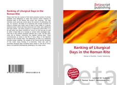 Ranking of Liturgical Days in the Roman Rite的封面