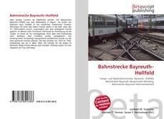Bookcover of Bahnstrecke Bayreuth–Hollfeld