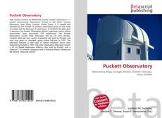 Copertina di Puckett Observatory