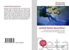 Обложка United States Navy Diver