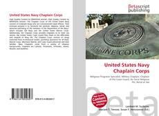 Couverture de United States Navy Chaplain Corps