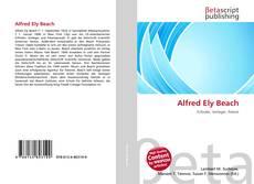 Capa do livro de Alfred Ely Beach