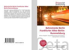 Copertina di Bahnstrecke Berlin Frankfurter Allee–Berlin-Rummelsburg
