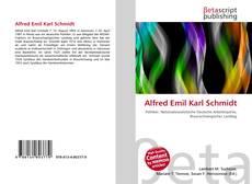 Bookcover of Alfred Emil Karl Schmidt