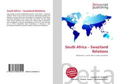 Bookcover of South Africa – Swaziland Relations