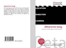 Buchcover von Alfred Erich Sistig