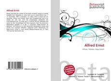 Buchcover von Alfred Ernst