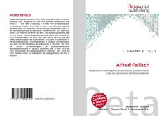 Portada del libro de Alfred Fellisch