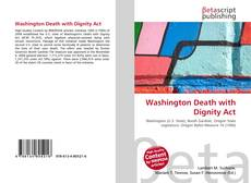 Portada del libro de Washington Death with Dignity Act