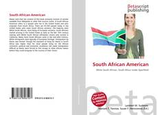 Bookcover of South African American