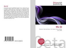 Bookcover of Wu Qi
