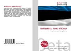 Bookcover of Rannaküla, Tartu County