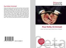 Portada del libro de Paul Kelly (Criminal)