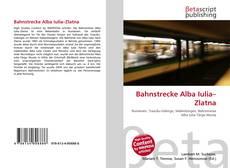 Bahnstrecke Alba Iulia–Zlatna的封面