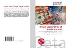 United States Office of Special Counsel的封面