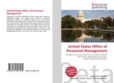 Buchcover von United States Office of Personnel Management