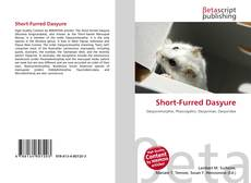 Bookcover of Short-Furred Dasyure