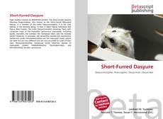 Short-Furred Dasyure的封面