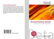 Borítókép a  Rannoch Railway Station - hoz