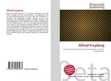 Portada del libro de Alfred Freyberg