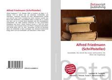 Buchcover von Alfred Friedmann (Schriftsteller)