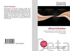 Buchcover von Alfred Führböter