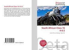 South African Class 16 4-6-2 kitap kapağı