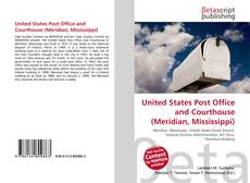 Portada del libro de United States Post Office and Courthouse (Meridian, Mississippi)
