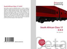 Bookcover of South African Class 17 4-8-0