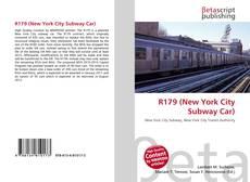 Обложка R179 (New York City Subway Car)