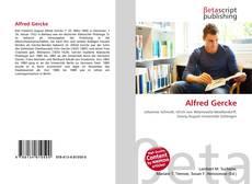 Alfred Gercke kitap kapağı