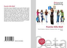Bookcover of Puente Hills Mall
