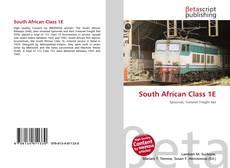 Capa do livro de South African Class 1E