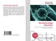 Bookcover of Nanotechnology Education