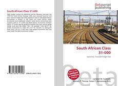 Bookcover of South African Class 31-000