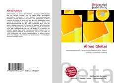 Buchcover von Alfred Gleitze
